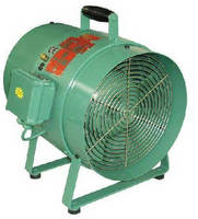 Explosion-Proof Electric-Powered Fans for Ventilating, Cooling and Exhausting in Hazardous Environments