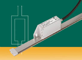 Linear Encoder withstands dirty or contaminated conditions.
