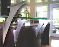 Countertop Support Brackets are made of solid steel.