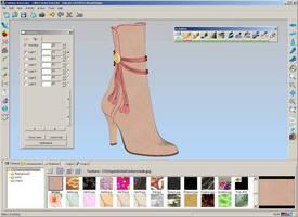 Integrated 3D CAD System facilitates footwear design.