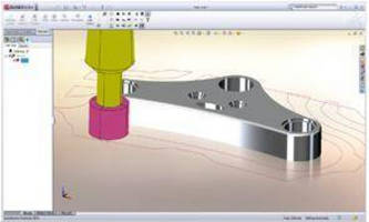 CAM Software fully integrates into SolidWorks environment.