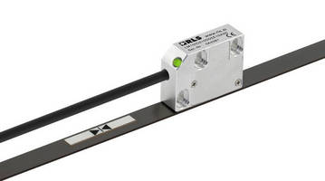 Linear Magnetic Encoders support up to 100 m measuring length.
