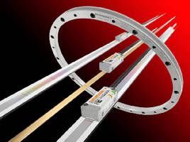 Optical Encoder offers speeds to 10 m/s. .