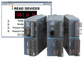 Controllers and Signal Conditioners offer embedded internet.
