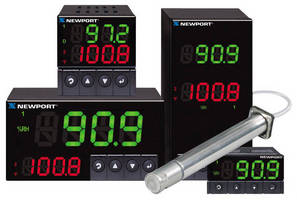 The NEWPORT® iTH Series Instruments Monitor and Control Both Temperature and Relative Humidity.