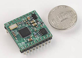 Low-Profile Serial-to-Ethernet Module offers 230 Kbps DTE speeds.