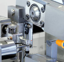 Pinch/Peel Grinder optimizes concentricity on long/thin parts.