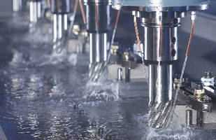 Metalworking Fluid supports milling and drilling operations.