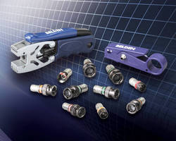 Belden Announces New Compression Connectors, Tools, and Cable Assemblies for A/V, Safety, and Security Applications