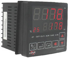 Valve Temperature Controller provides position feedback.