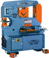 Hydraulic Ironworker offers variety of standard, optional features.