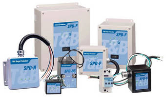Thomas & Betts Surge Protection(TM) Products for Alternative Energy Applications