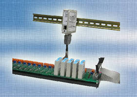 Networking Cable brings Ethernet to analog signal conditioners.