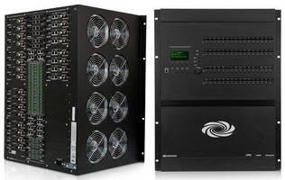 Matrix Switchers integrate redundant power supplies.