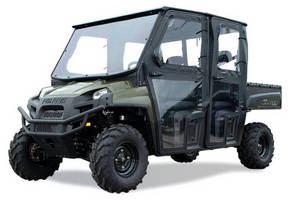 Cab System increases UTV operator visibility, protection.