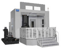 Horizontal Machining Center offers spindle speed of 6,000 rpm.