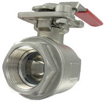V-Port Ball Valves offer various degrees of V angle.