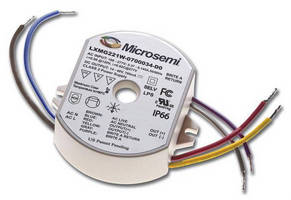 AC/DC Isolated Power Supply drives LED light fixtures.