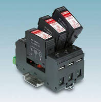 Surge Arresters protect photovoltaic systems up to 1,000 V.