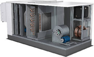 Energy Recovery Ventilator features integral heat pump.