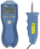Multifunctional Tachometer delivers accuracies down to 0.1%.