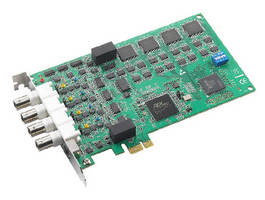 Analog Data Acquisition Card features PCI Express interface.