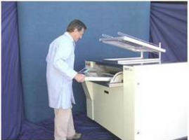 Ultrasonic Stencil Cleaner has efficient, ergonomic design.
