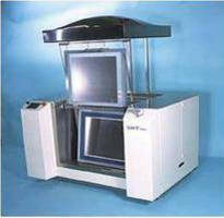 Ultrasonic Stencil Cleaner handles large stencil printing applications.