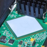 Silicone-Free Thermal Interface Pads have light tack adhesive.