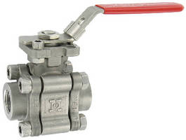 NI-Alloy C Ball Valves provide corrosion resistance.