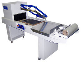 Shrink Wrap System offers semi-automatic operation.
