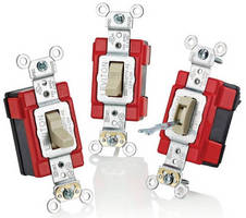 Single-Pole Toggle Switches have modular wiring system.