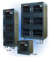Desiccant Cabinets provide RH atmosphere of 5% or less.