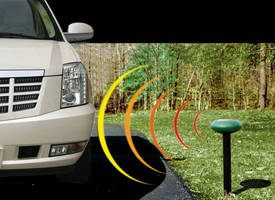 Wireless Driveway Monitors announce visitor entry/egress.