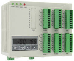 Temperature Controller controls up to 8 PID circuits.