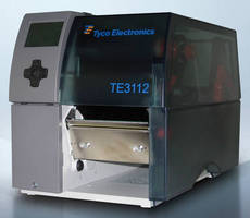 Identification Printer marks heat-shrinkable sleeves/tags/labels.