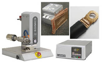 Sonics to Display Ultrasonic Metal & Plastics Welding Systems at AATE, Booth #1015