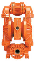 AODD Pumps handle viscous, solid-laden slurries.