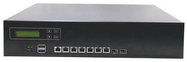 Rackmount 2U Network System supports up to 32 x GbE LAN.