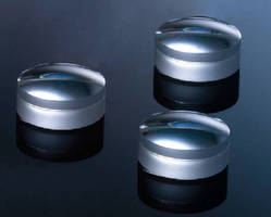 Coated Achromatic Lenses include F/1 designs and small diameters.