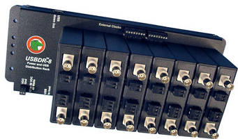 USB Distribution Rack powers signal conditioning products.