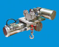 Cleanroom Strap Hoists handle capacities up to 4,000 lb.