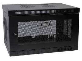Wall-Mount Cabinet accommodates 19 in. rack equipment.