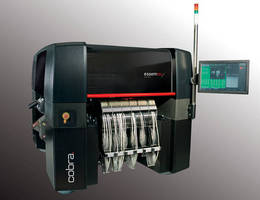 SMD Pick-and-Place System holds 240 components simultaneously.