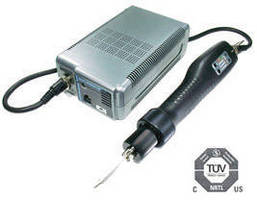 Electric Torque Screwdrivers feature brushless motor.
