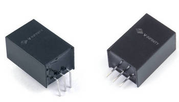 Compact DC Switching Regulator does not require heat sink.