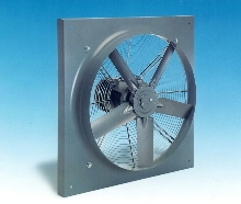 Propeller Fans push air with 5 or 10 blades.