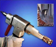 Fin Tube Removal Tool eliminates chipping hammers and grinders.