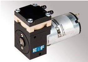 Swing-Piston Pump comes in compressor or vacuum pump models.