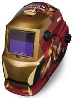 Auto-Darkening Welding Helmet pays tribute to Iron Man.